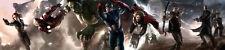 Iron Man Hulk Captain America Thor Hawkeye Black Widow The Avengers Framed Art