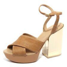 B1738 sandalo donna HOGAN scarpa beige shoes women