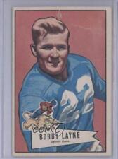 1952 Bowman Large #78 Bobby Layne Detroit Lions Football Card