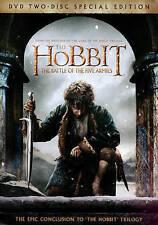 The Hobbit: The Battle of the Five Armies DVD 2015, 2-Disc Set, Digital Copy NEW