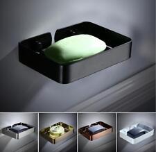 Stainless Steel Bathroom Soap Dish Storage Holder Shelf Wall Mount Basket Hanger