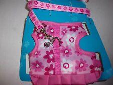 Pink Life's Fur-tastic Leash Harness M Rabbit Ferret Rat new guinea pig dog cat