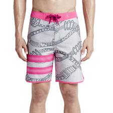 Hurley Mens Phantom Julian Snapper Fashion Board Shorts Grey/Pink