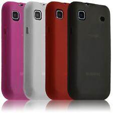 Housse étui coque gel translucide Samsung Galaxy SCL i9003 couleur