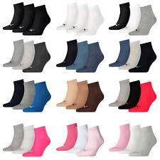 Puma 3 Paar UNISEX QUARTER PLAIN Socken Socks Strümpfe Quarters Sneaker 251015