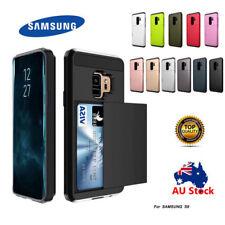 AU Samsung Galaxy S9 / S9+ Slide Card Armor Tough Heavy Duty Case AU
