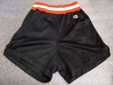 VTG 1980's Womens Basketball Shorts by CHAMPION Orange White Waistband sz 30