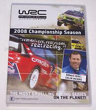 FIA WRC World Rally Championship 2008 Season Review DVD New