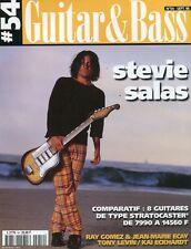 Guitar & Bass #54 -Stevie SALAS- Comparatif 8 guitares type Stratocaster,...