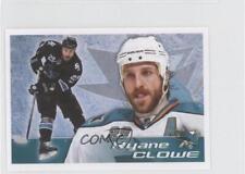 2011-12 Panini Album Stickers #315 Ryane Clowe San Jose Sharks Hockey Card