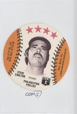 1976 Msa Discs Orbaker's Quality Food and Ice Cream #Stca Steve Carlton Card