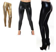 ba269d031beeab Sakkas Shiny Liquid Metallic High Waist Stretch Leggings - Made in ...