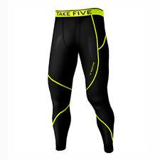Take Five Mens Skin Tight Compression Base Layer Running Pants Leggings NT507