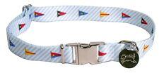 Nautical Flags Southern Dawg Dog Collar Yellow Dog Designs