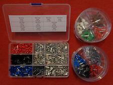 Sortiment Aderendhülsen,100-1300 Teile; 0,50-16,00 mm²; isoliert,blank, -huelsen