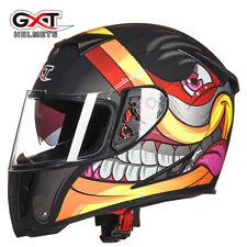 GXT 358 Motocross Car Racing Helmet Motorcycle Full Face Dual Shield Helmets New