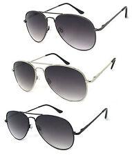 Retro Pilot Full Lens Magnified Tinted Sun Readers Reading Sunglasses UV400