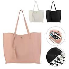 Ladies Designer Shoulder Bag Tote Large Handbag Office Bags PU Leather