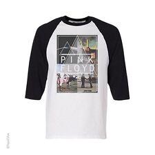 PINK FLOYD-DARK SIDE-CLASSICS-RAGLAN JERSEY Long Sleeve SHIRT S-M-L-XL-XXL