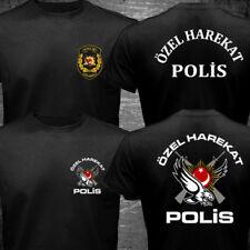 New Turkey Turkish Police SWAT Special Force Tactical Unit Özel Harekat T-shirt