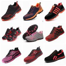 femmes sécurité respirant léger Baskets Chaussures de travail embout coqué acier