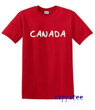 Los niños del Canadá T Shirt Niños O Niñas canadiense Tee todos los niños tamaños edad 1-14