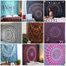 Mandala-indische Tapisserie-Strand-Wurfs-Tuch-runde Hippie-Picknick-Decken-Matte