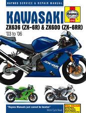 Kawasaki Ninja ZX-6R Haynes Repair Manual (2003 to 2006)  4742