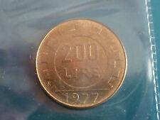200 LIRE DAL 1977 AL 2001- FDC