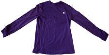 BREKKA Active Stretch power top purple sweatshirt woman felpa viola donna