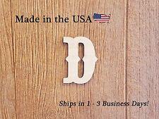 Wood Lower Case Letter, Unpainted, Nursery Decor, Disney Like Font, LFLC1007