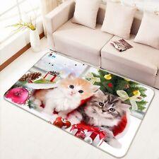 3D Christmas Cats 1311 Non Slip Rug Mat Room Mat Quality Elegant Photo Carpet AU