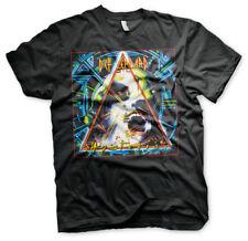 Oficialmente licenciado Def Leppard-Hysteria Álbum Cubierta Para Hombre Camiseta Tallas S-XXL