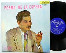 JUAN LLIBRE with AVELINO MUNOZ poema de la espera LP Near-MINT