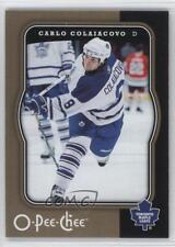 2007-08 O-Pee-Chee #463 Carlo Colaiacovo Toronto Maple Leafs Hockey Card