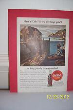 Coca-Cola Magazine Advertisement - 1944