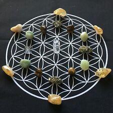 Law of Attraction Spiritual Crystal Grids- Love, Abundance, Spirit Connection +