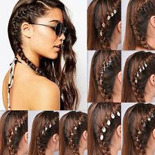 5stk Mini Haarklammer Haarclip Haarring Haarspange Damen Haarschmuck Frisur DIY