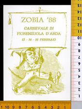 24590] PIACENZA  FIORENZUOLA D'ARDA  CARNEVALE 1988