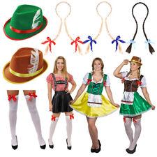 LADIES OKTOBERFEST GERMAN BEER FESTIVAL FANCY DRESS COSTUMES ACCESSORIES WOMANS