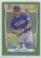 2014 Bowman Draft Picks & Prospects Top Green #TP-7 Jorge Alfaro Texas Rangers