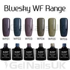 Bluesky Gel Polish Nail UV LED Soak Off WF Range 10ml Bottle FREE POSTAGE