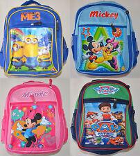 NEW Boy Girl Minnie Mickey Lego Paw patrol school bag / Backpack