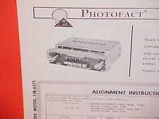 1960 1961 DODGE DART SENECA PIONEER PHOENIX CONVERTIBLE AM RADIO SERVICE MANUAL
