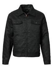 Workerjacke Gefüttert Stoff Gabardine Blanko schwarz Men's Work Jacket