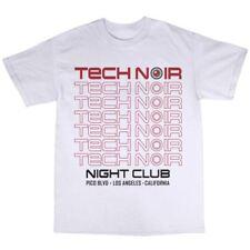 Tech Noir T-Shirt 100% Baumwolle T-800 Cyborg Disco Sarah Connor Modell 101