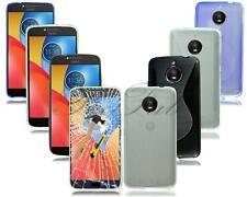 For Motorola Moto E4 XT1766 & E4 Plus XT1771 New Rubber Gel Phone Case + Glass