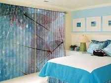 3D Feuilles 45 Blockout Photo Rideau impression Rideaux Rideaux Tissu fenêtre UK