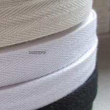 45M Cotton Binding Tape Bias Ribbon Strap Sewing Craft Webbing Trimmings DIY Hot