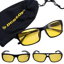 DUNLOP Nachtsichtbrille UV Auto Nachtfahrbrille Sonnenbrille Kontrast Brille